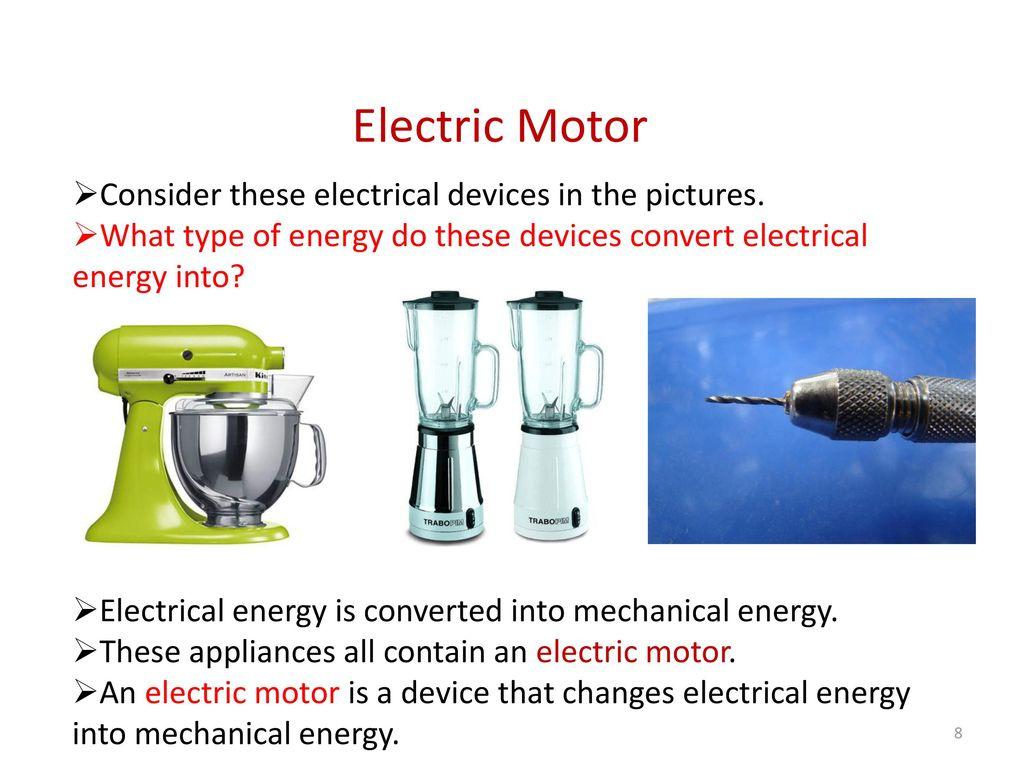 8 Electric Motor