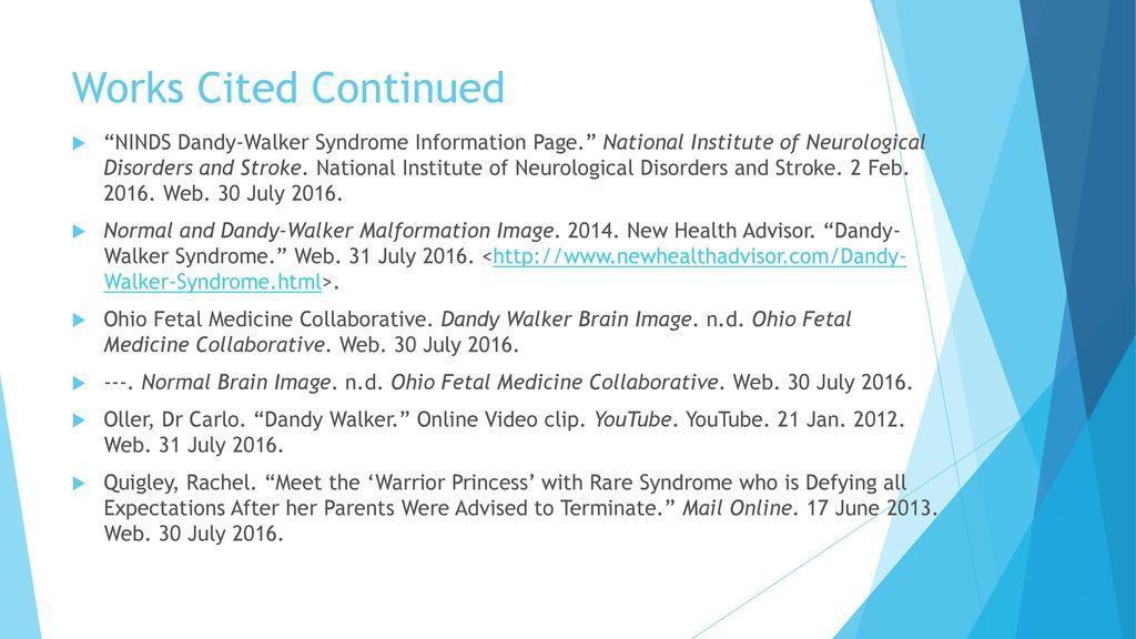 Dandy Walker Syndrome Ppt Download