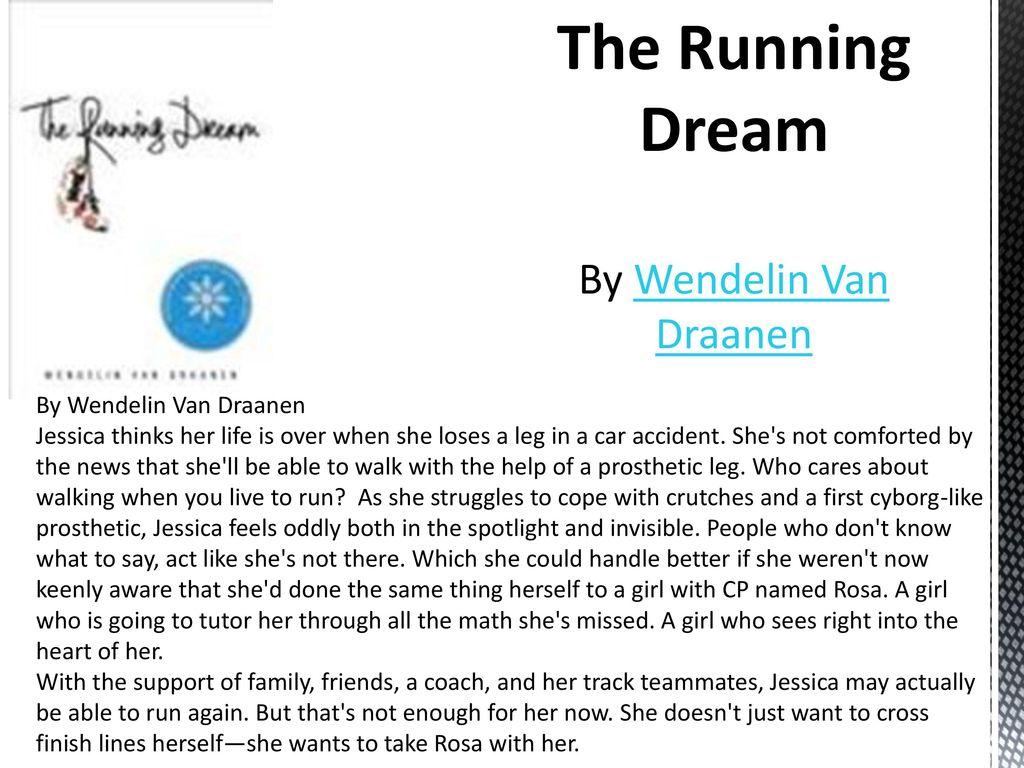the running dream jessica