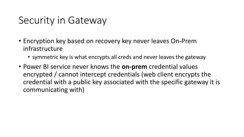 power bi gateway recovery key