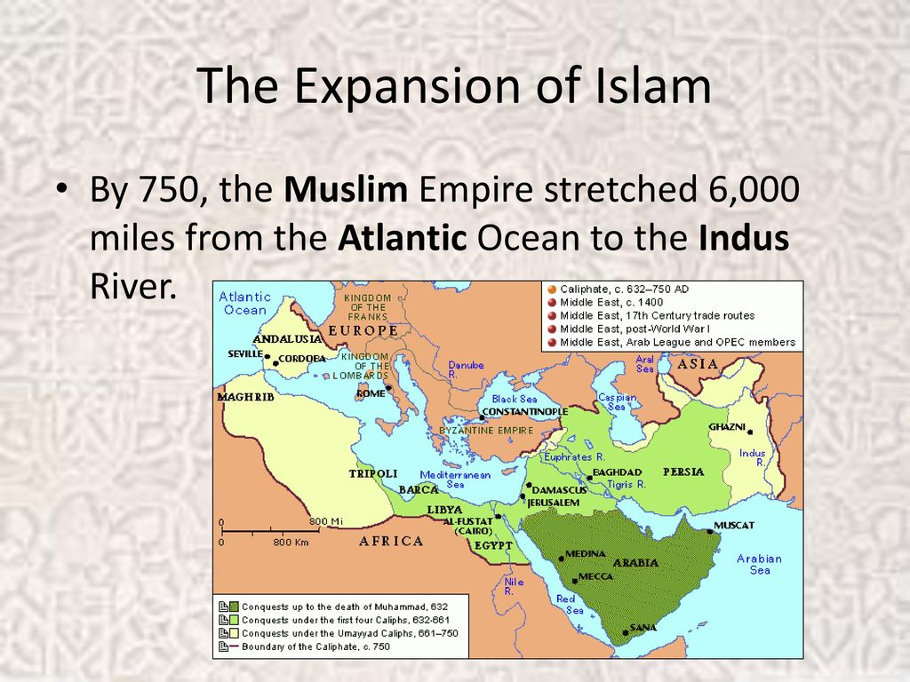 spread of islam between 632 750 This lecture covers the umayyad and abbasid dynasties table of contents: 00:00 - e expansion of islam under the rightly guided caliphs (632 - 661 ce) 04.
