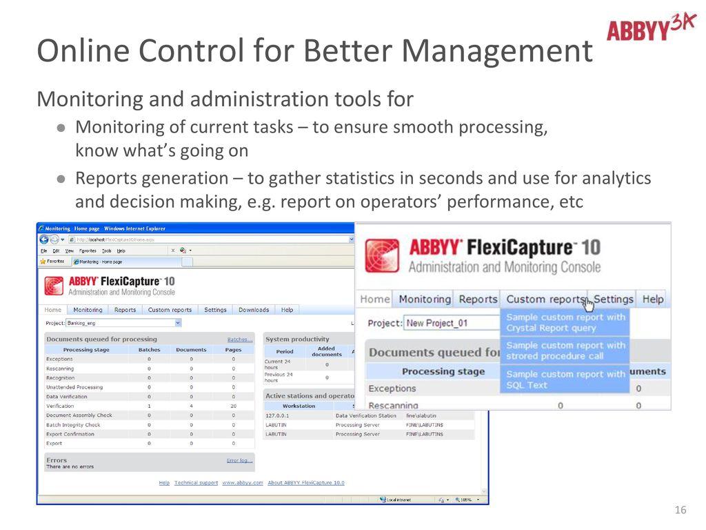 ABBYY Platform for BPO  - ppt download