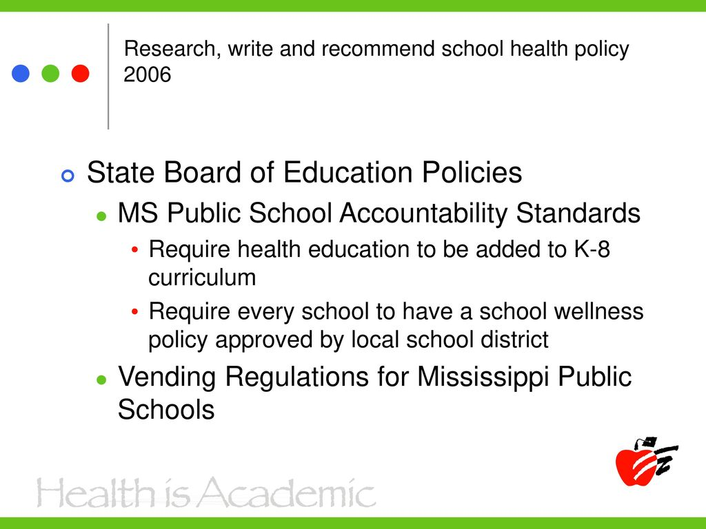 Commitment to School Health - ppt download