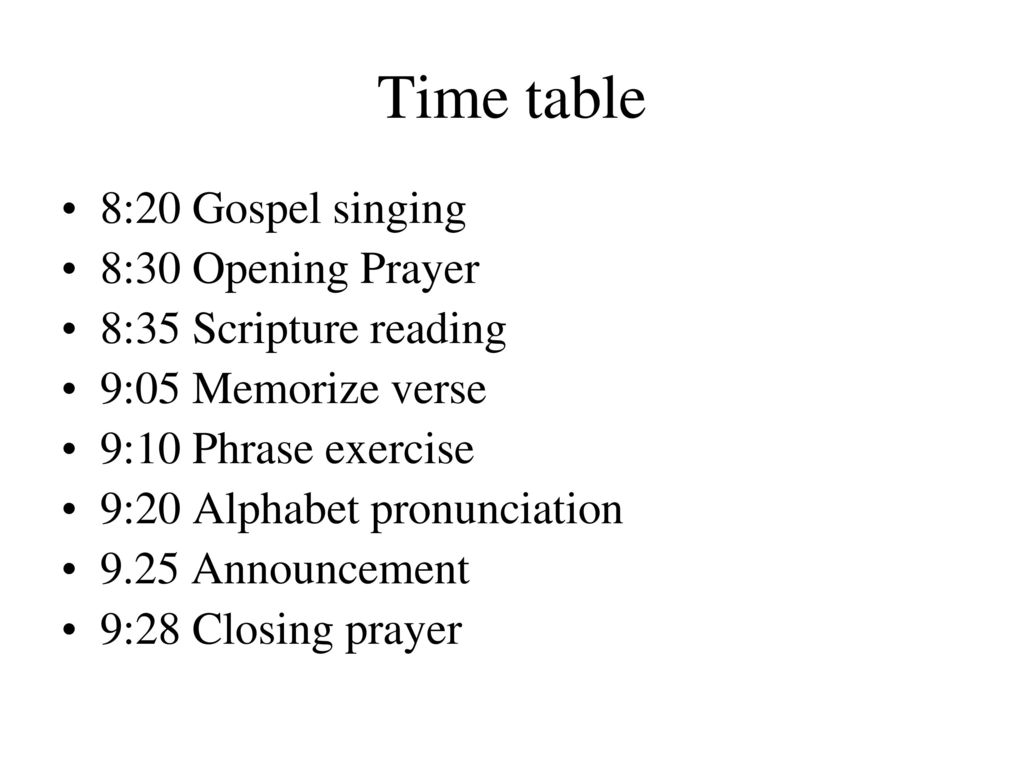 opening prayer for bible study