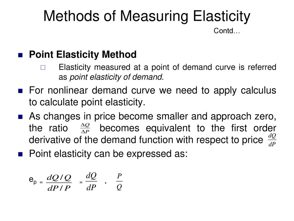 Elasticity Of Demand Ppt Download