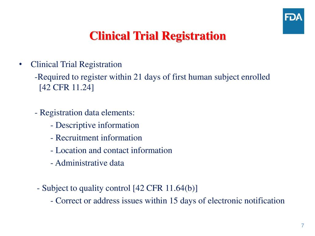 ClinicalTrials gov Requirements - ppt download
