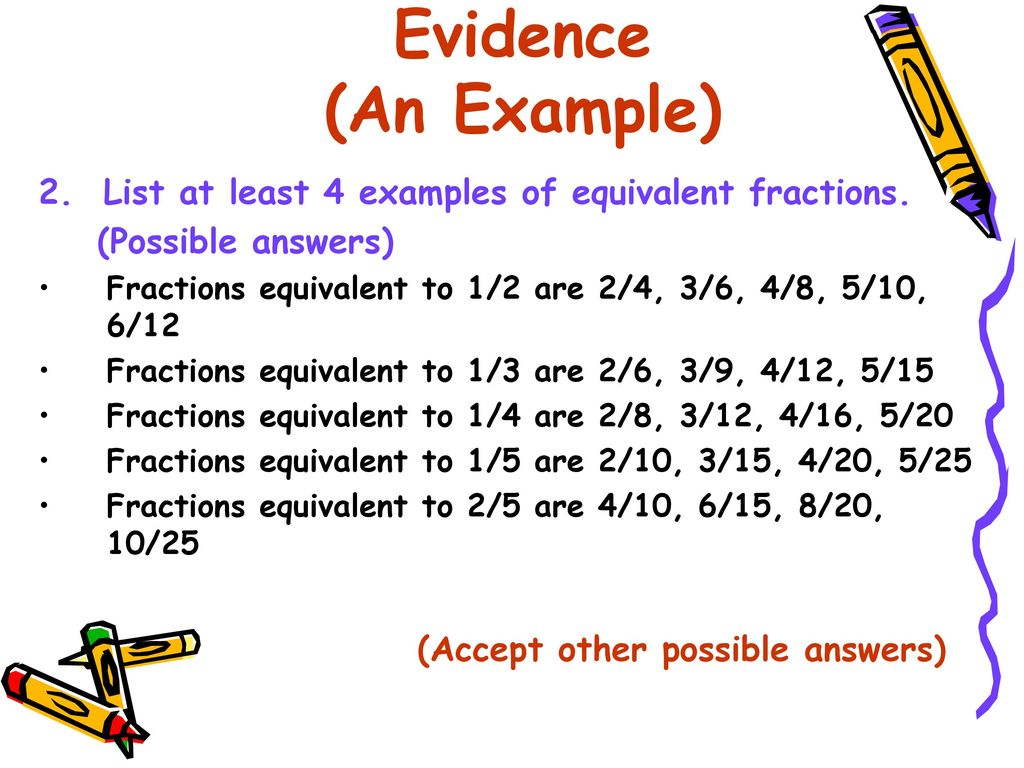 topic: equivalent fraction - ppt download