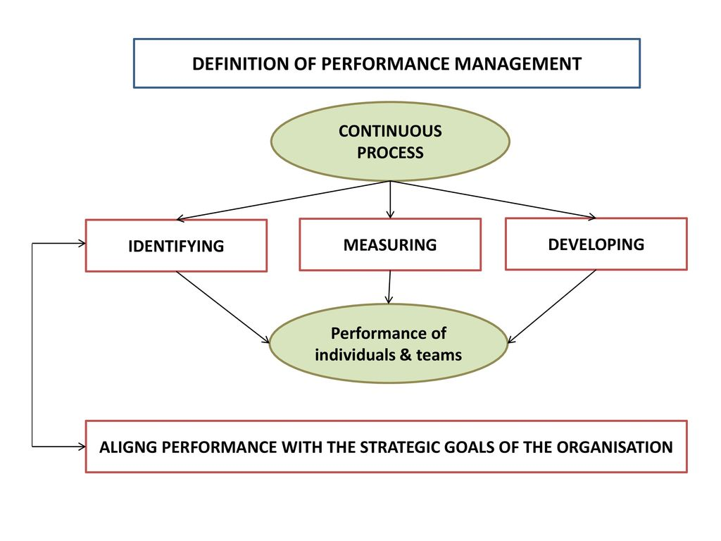 performance management: an overview - ppt download