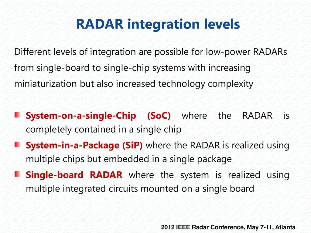 RF and Digital Components for Highly-Integrated Low-Power