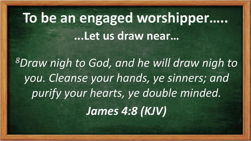 How to be an Engaged Worshipper - ppt download