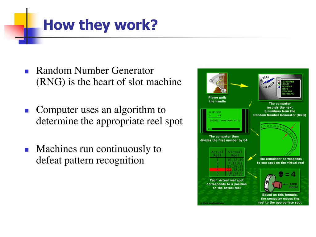 Spring 10 Term Project Casino Game Overview Ppt Download Random Number Generator Based How They Work Rng Is The Heart Of Slot Machine