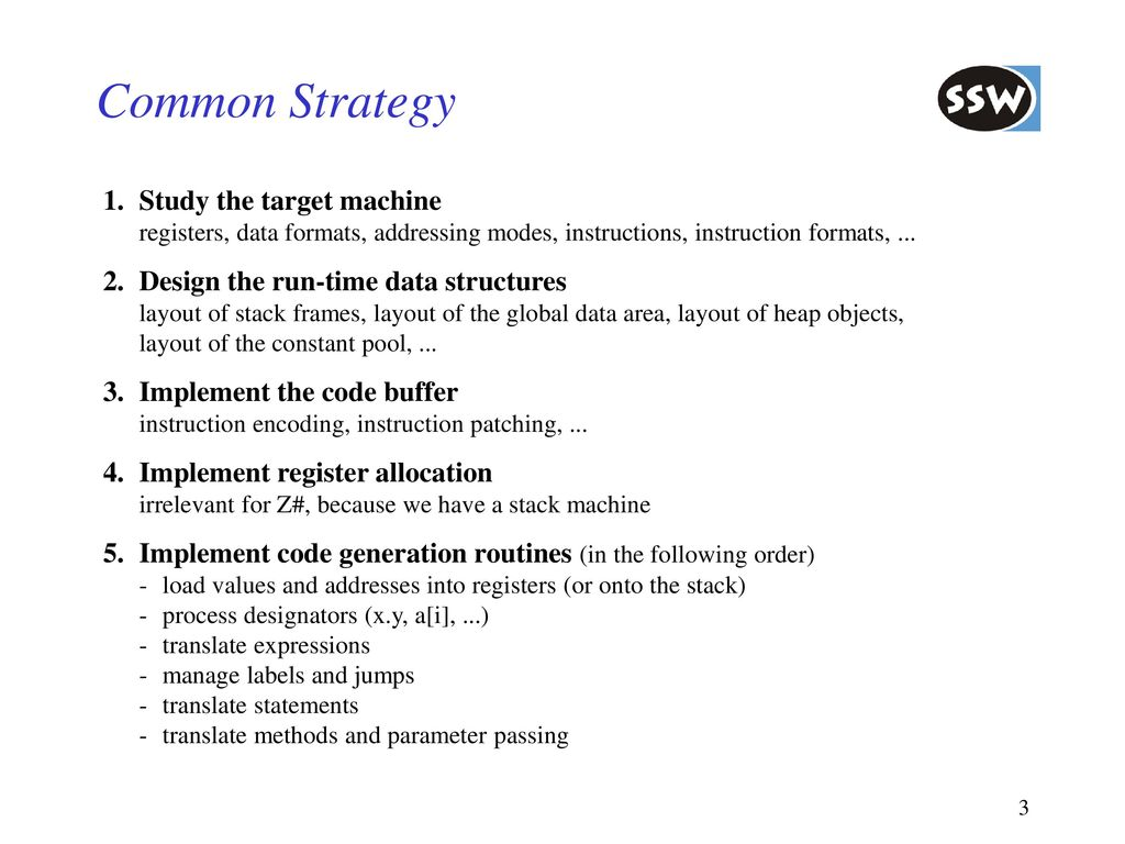 6. Code Generation 6.1 Overview - ppt download