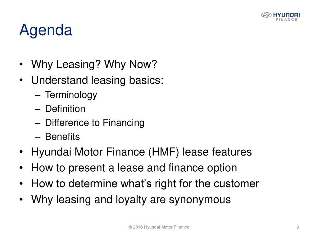 2016 Hyundai Motor Finance