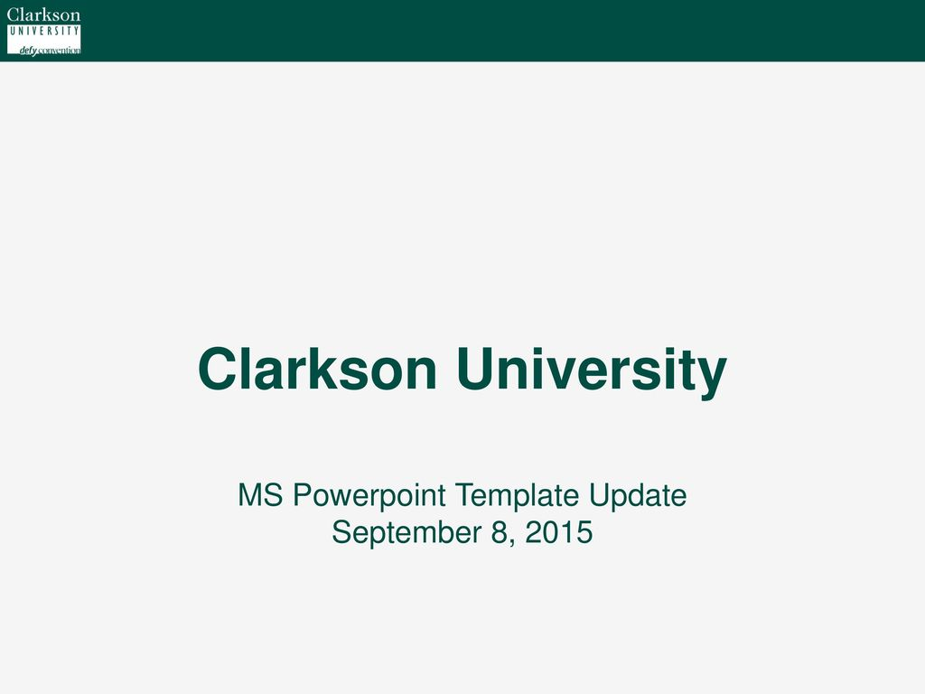 ms powerpoint template update september 8 ppt download