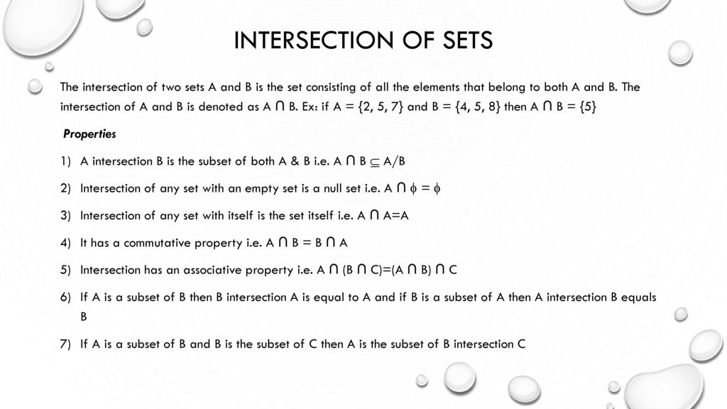 Chapter Two Theory Of Sets Ppt Download