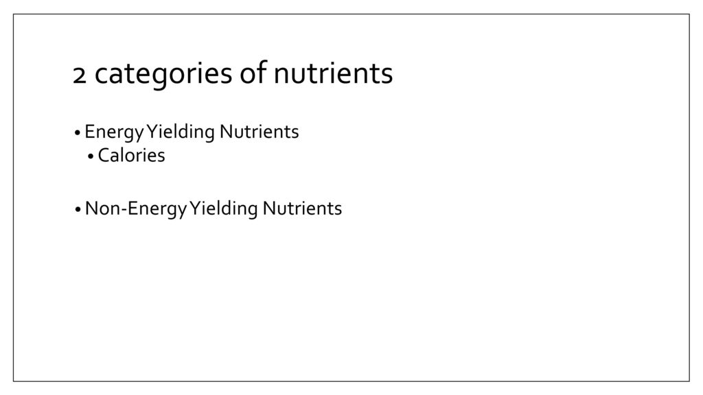 Nutrition Ppt Download