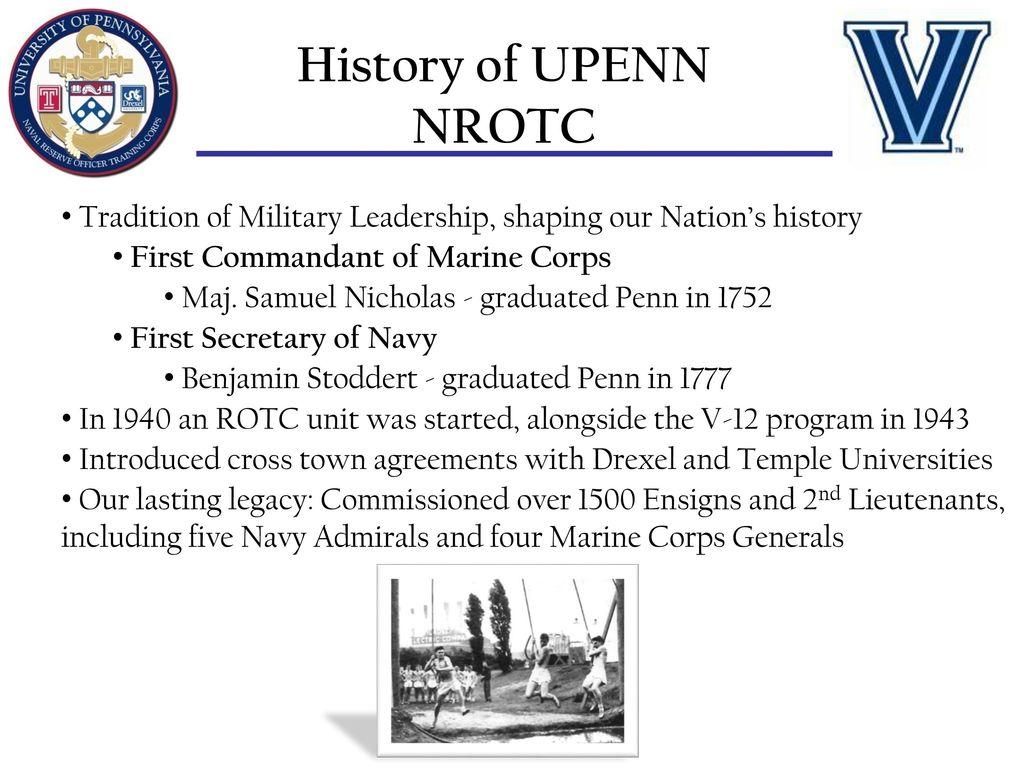 Philadelphia Nrotc Consortium 4 Schools 2 Units 1 Mission Colonel