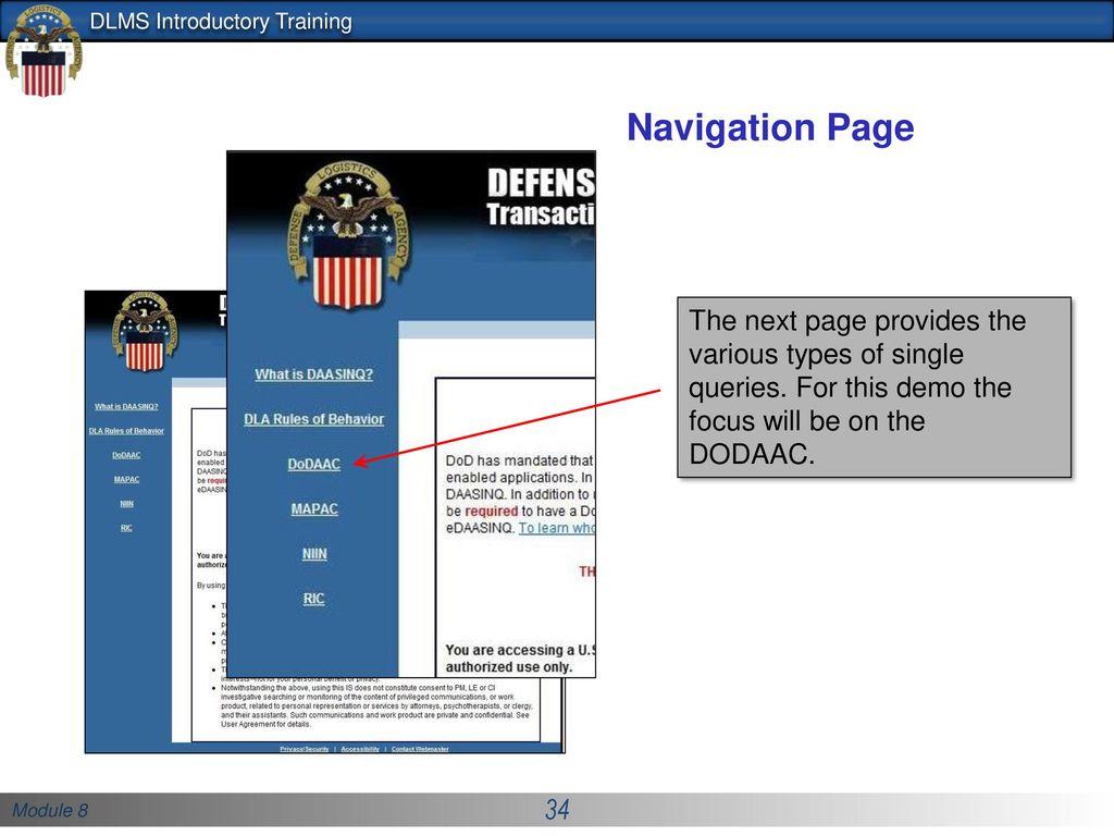 Defense Logistics Management Standards Office (DLMSO) - ppt download