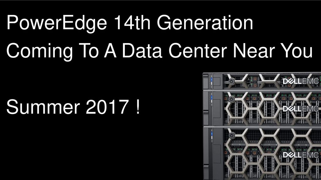 The Bedrock of the Modern Data Center - ppt download