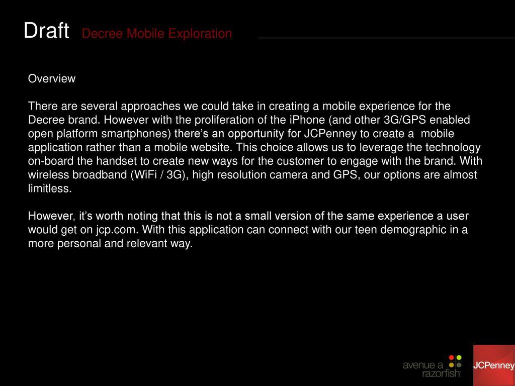 7d51697fb86 Decree Mobile Exploration O C T O B E R 2, - ppt download