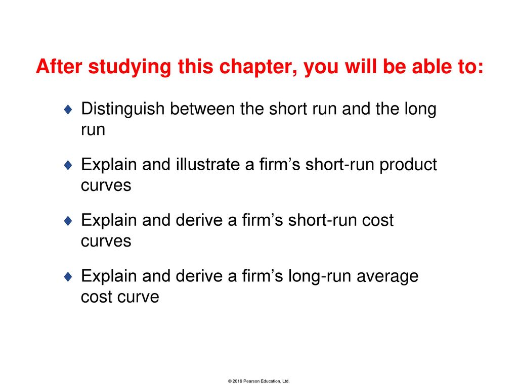 short run cost curves explained