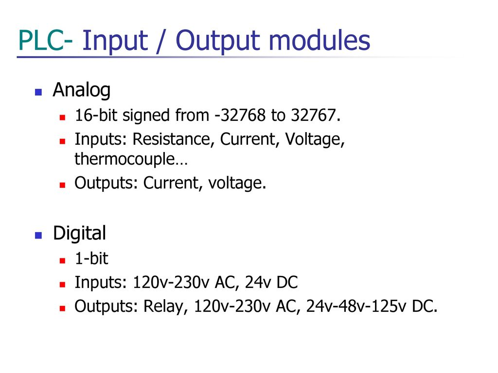 Fe Technologies Plc Basis Be Ics Ppt Download Wiring Diagram Dc Inputs To Ac Outputs 11 Input Output Modules