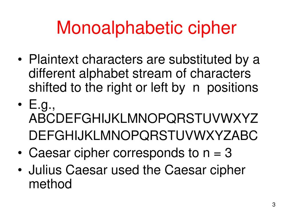 Substitution Ciphers  - ppt download