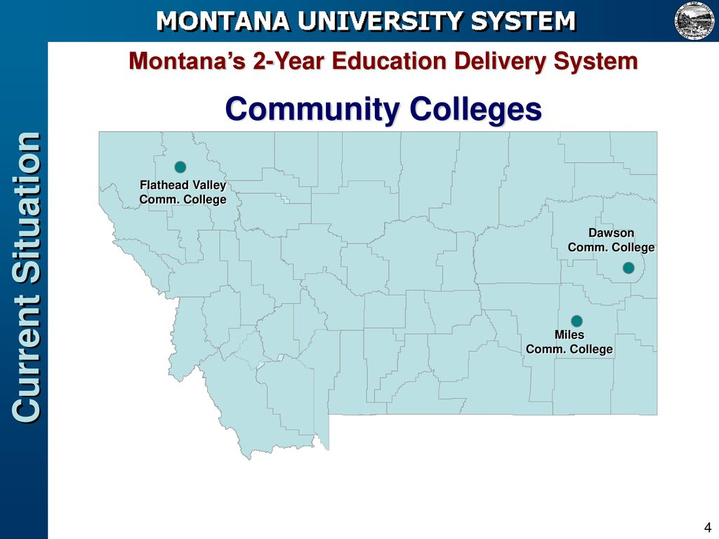 Montana\'s 2-Year Education Delivery System - ppt download