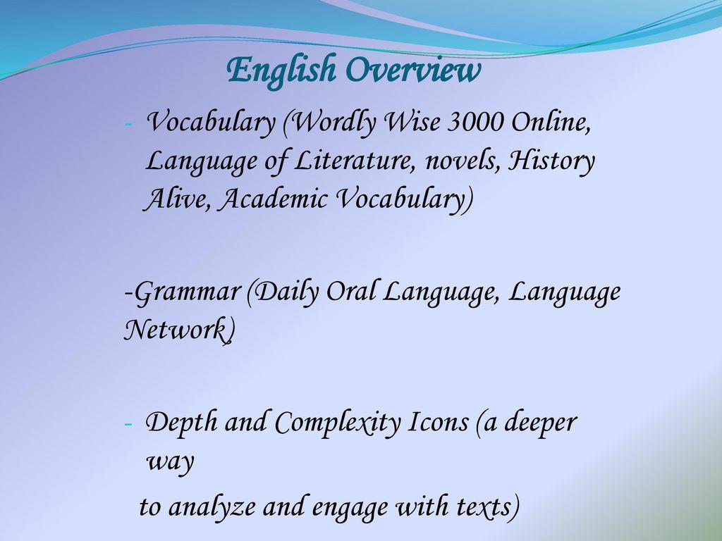 7th Grade Core Englishus History Mr Banaag Ppt Download