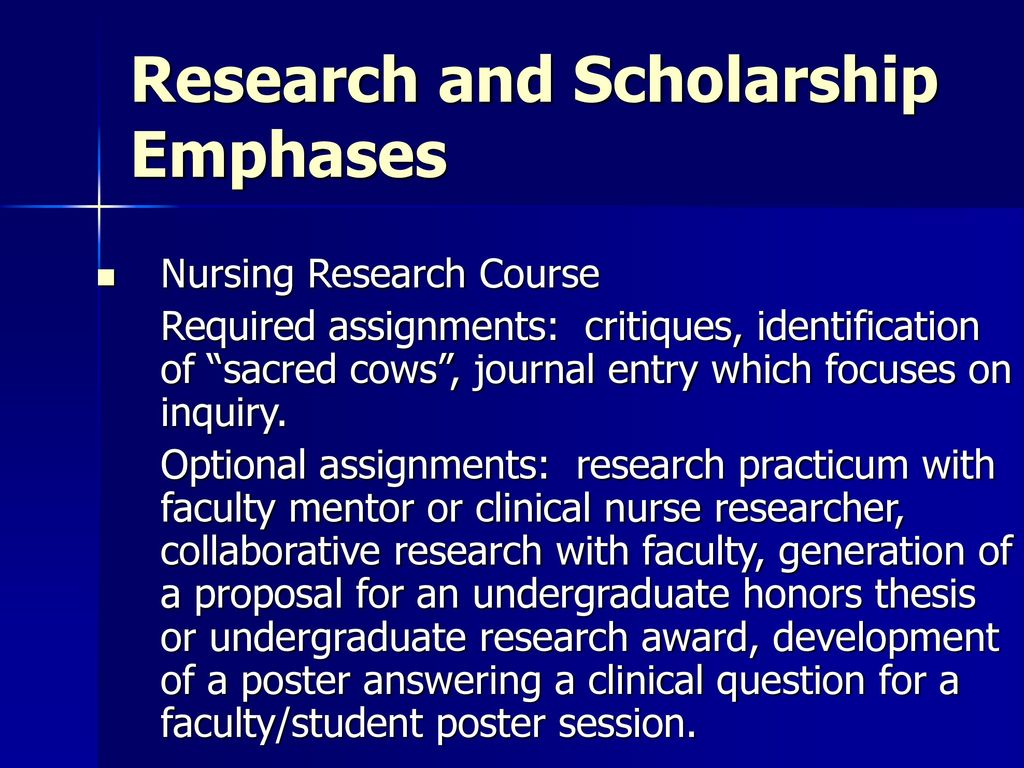 Brigham Young University College of Nursing - ppt download