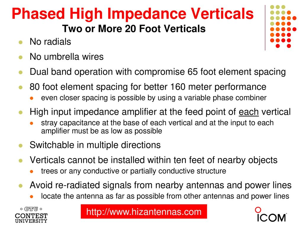 Improving the Performance of your 160 and 80 Meter Antennas - ppt