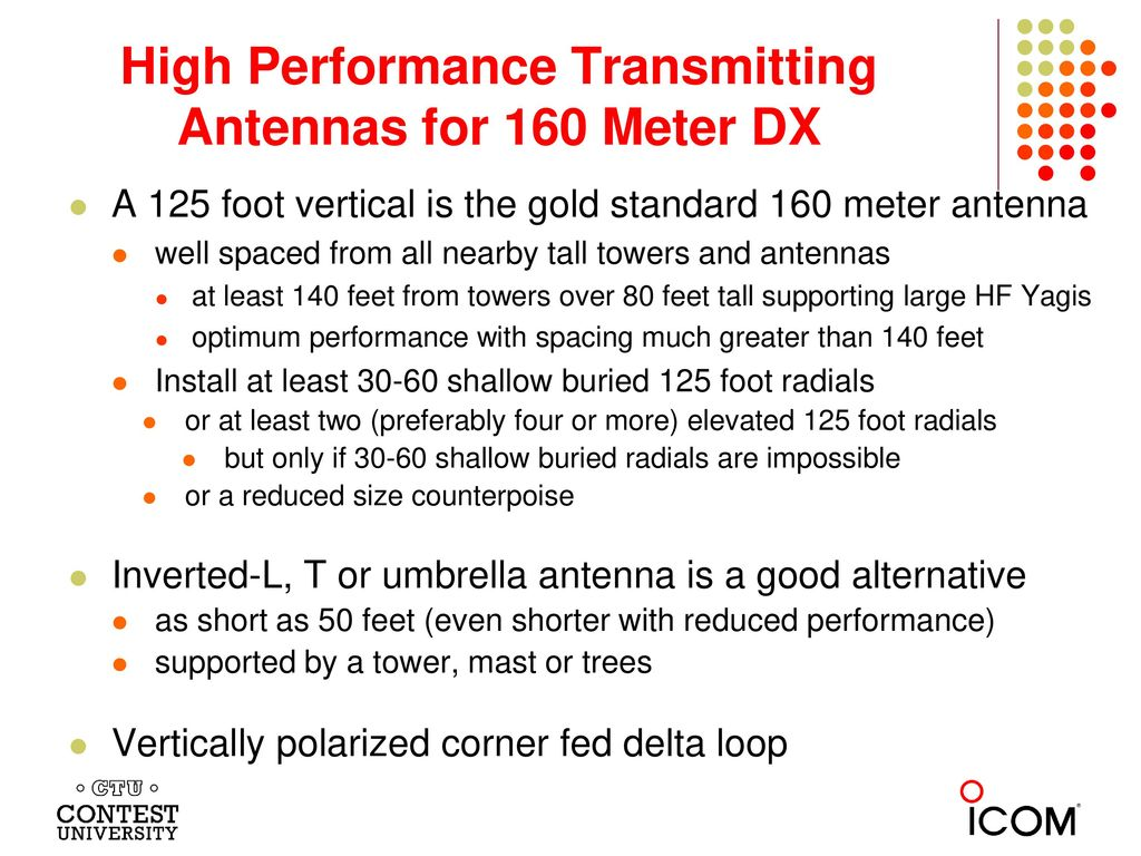80 160 Meter Antenna