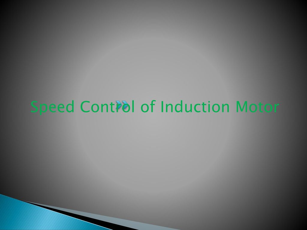 Unit Iv Starting And Speed Control Of Three Phase Induction Motor Stator Voltage Fed By
