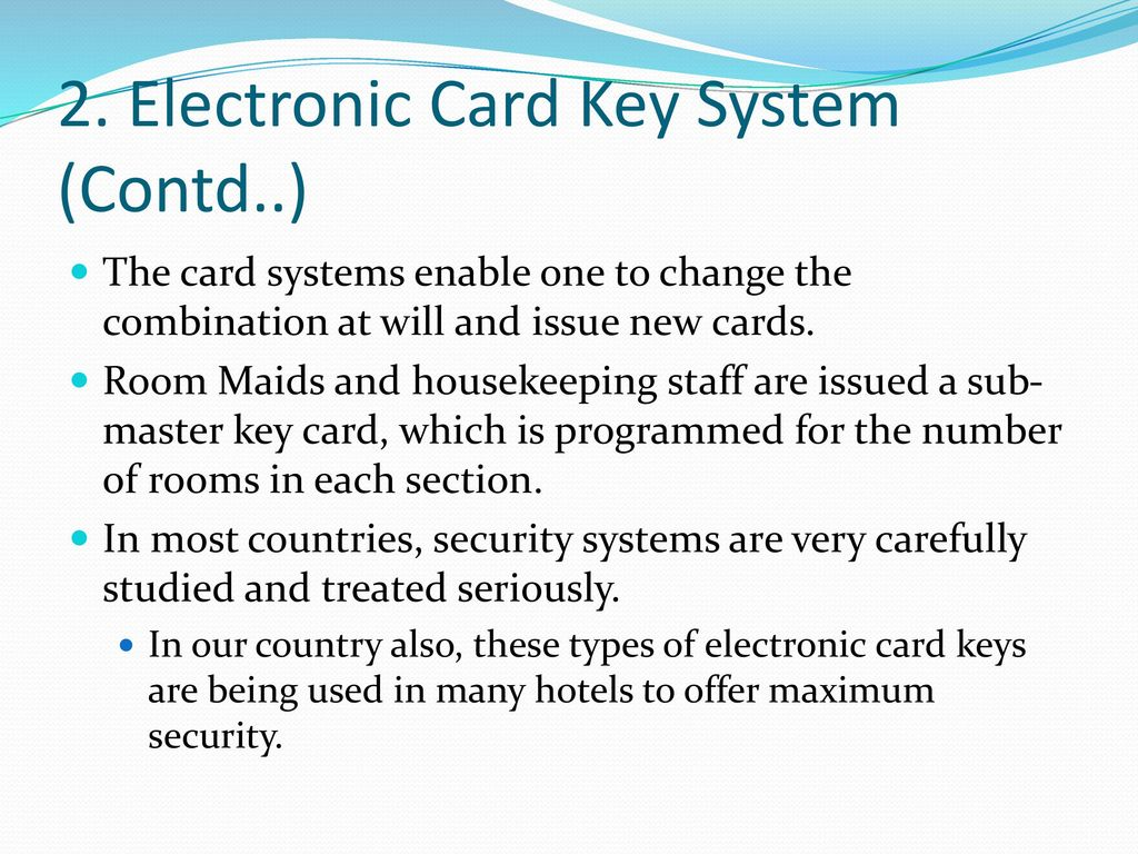 KEYS AND THEIR CONTROL  - ppt download