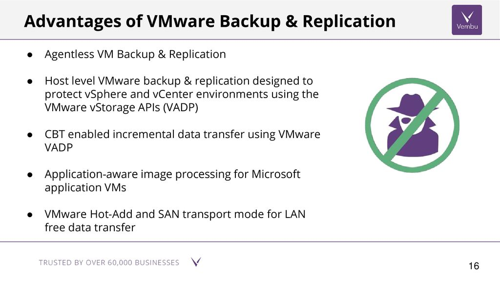VMware Backup & Replication - ppt download