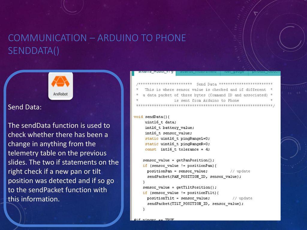 Arxterra: Understanding the Communication Between Arduino and Phone