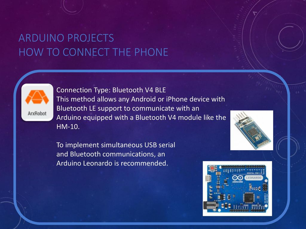 Arxterra: Understanding the Communication Between Arduino