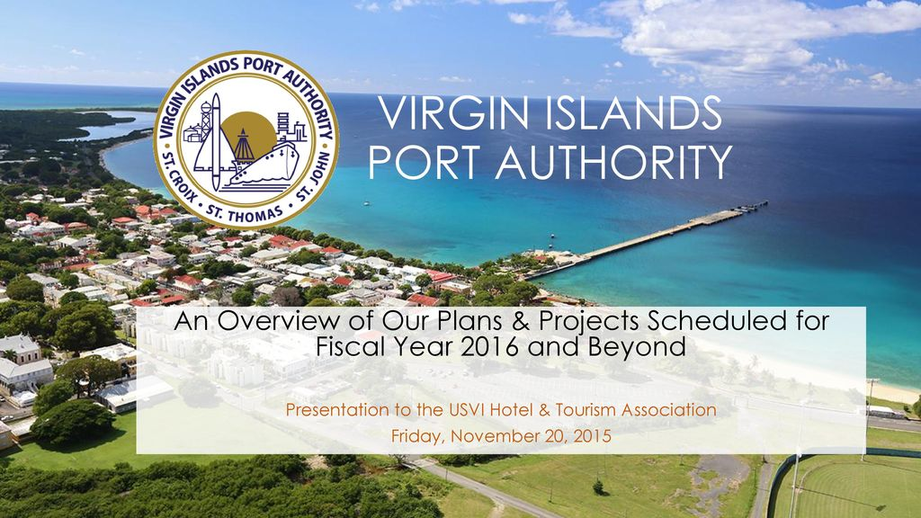 Virgin Islands Port Authority Ppt