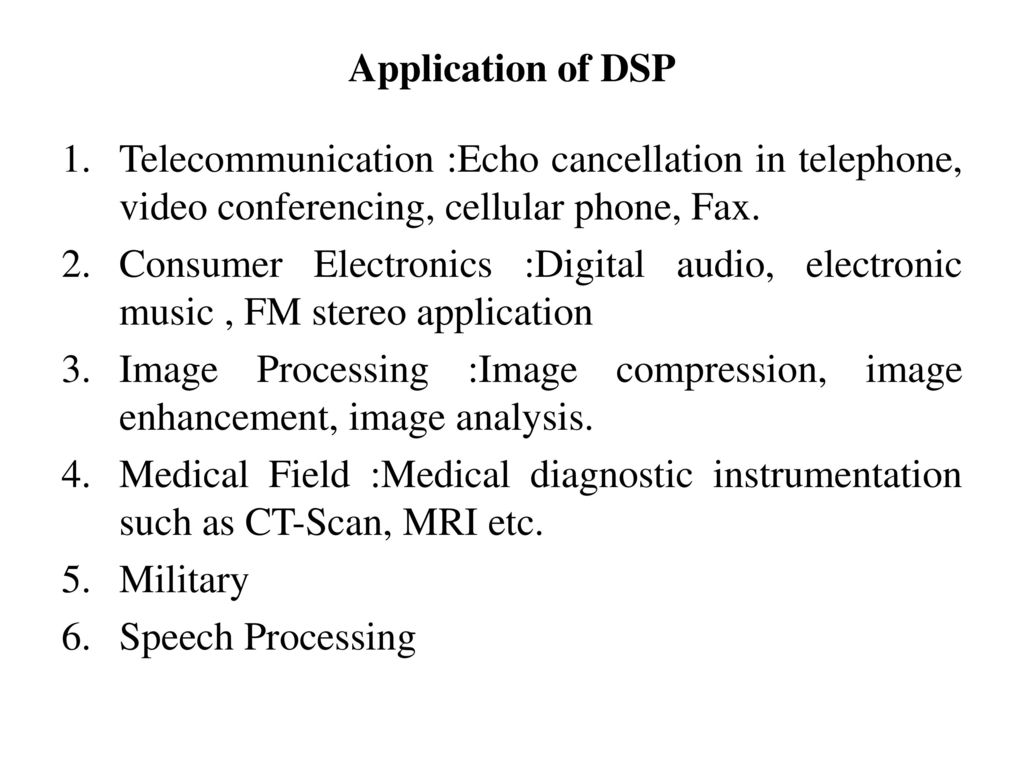 Digital Signal Processing (7KS01) - ppt download