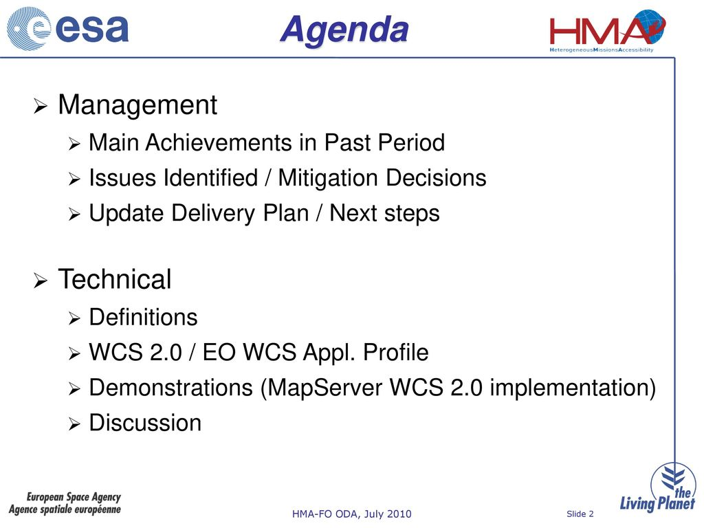 HMA Follow-On Task 3 Online Data Access in the frame of