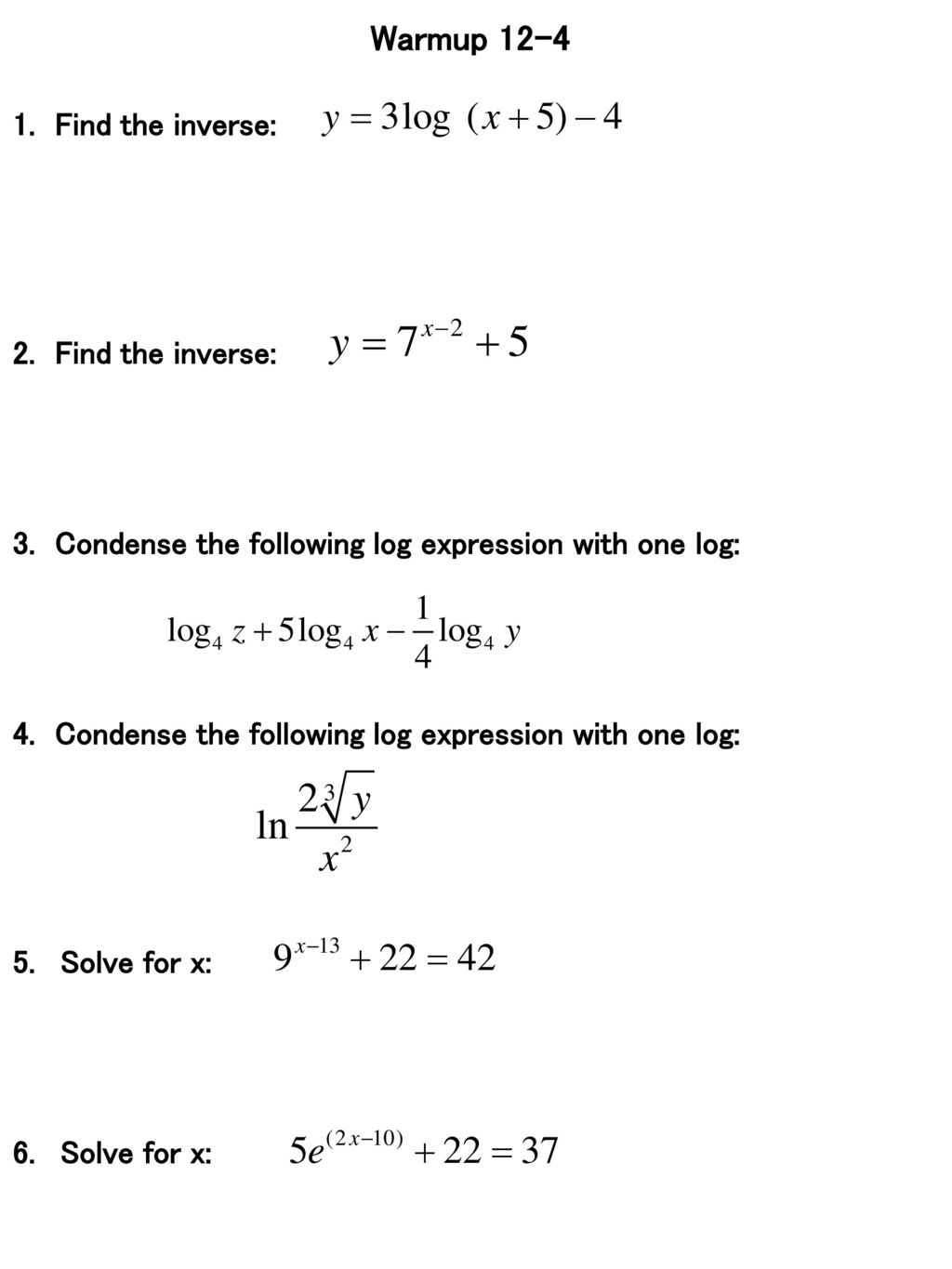 warmup find the inverse 2 find the inverse ppt download rh slideplayer com