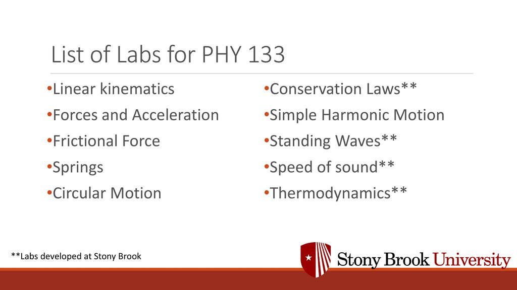 Stony Brook University Nicole Cronin Dr  Thomas Hemmick - ppt download