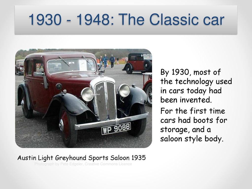Cars Today, cars are all around us. - ppt download