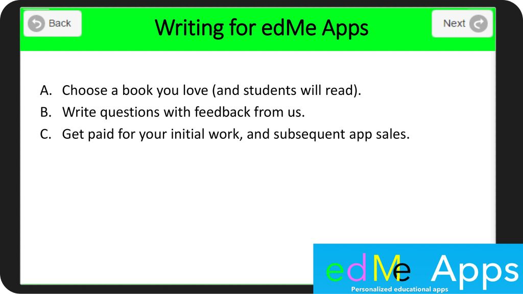 Why edMe Apps?  - ppt download