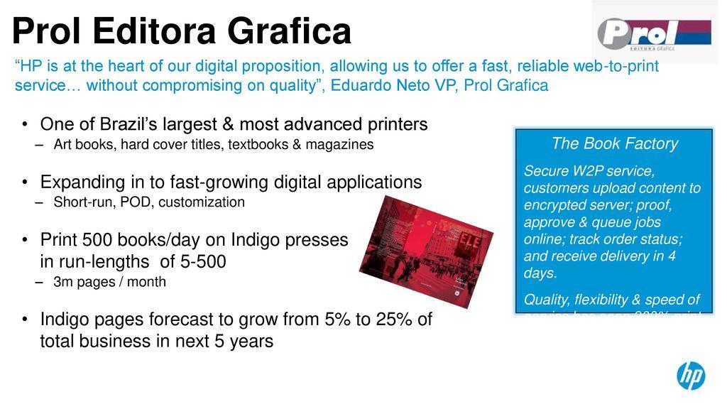 Prol Editora Grafica One Of Brazils Largest Most Advanced Printers