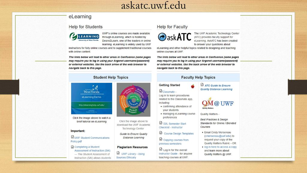 The Academic Technology Center - ppt download