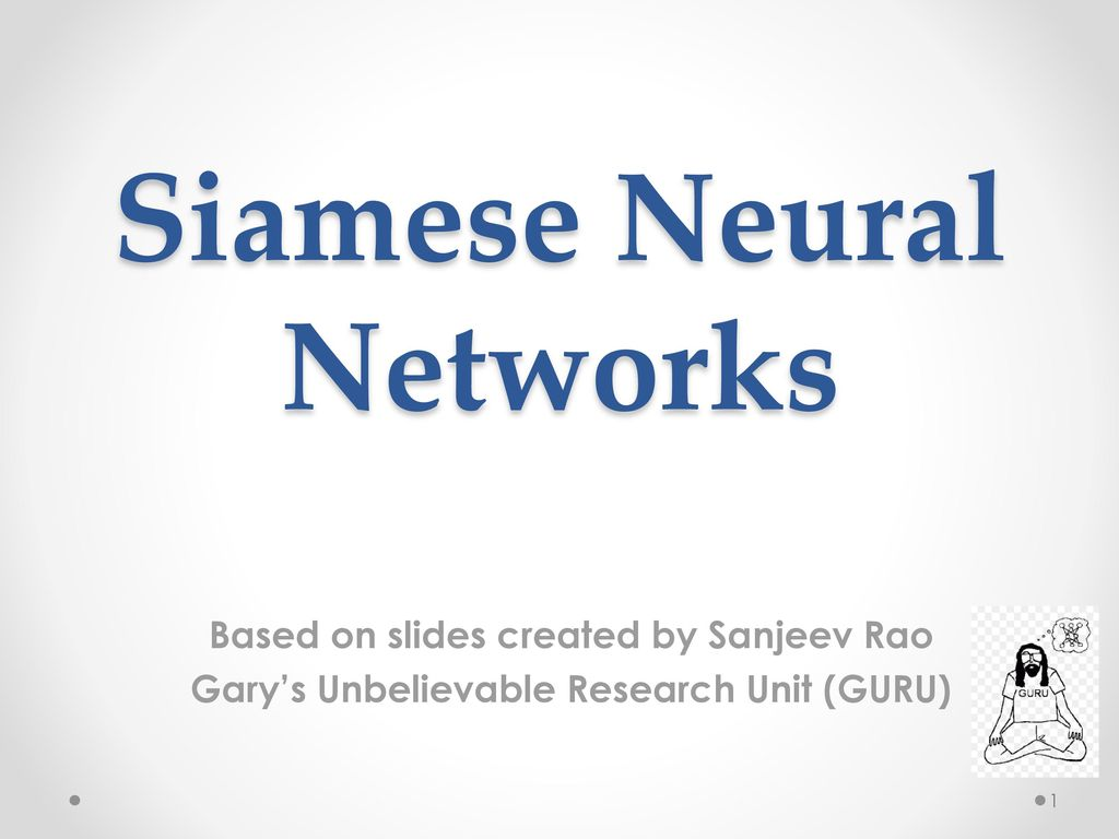 Siamese Neural Networks - ppt download