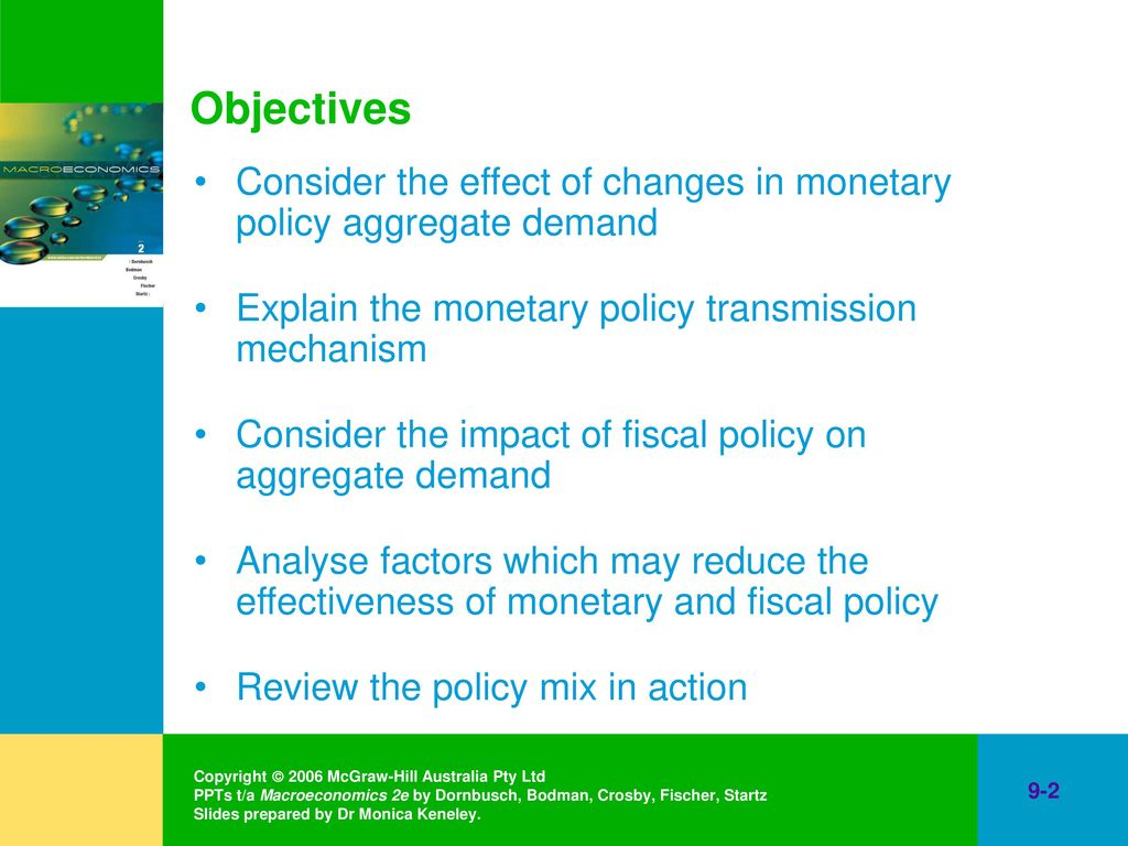 fiscal and monetary policy australia