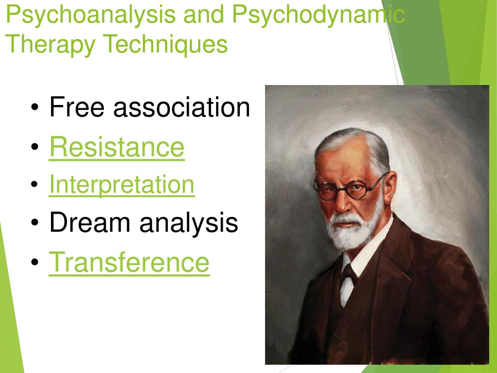 resistance in psychodynamic therapy