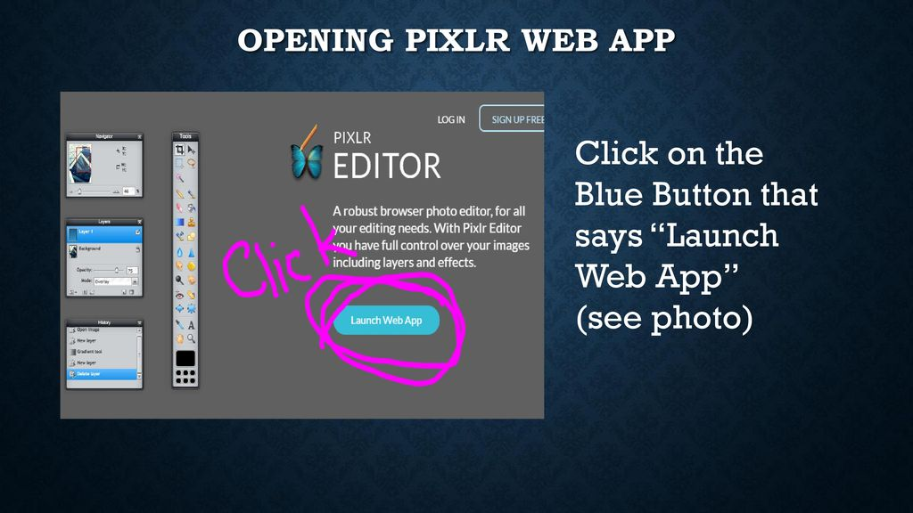 INTRO to PIXLR com  - ppt download